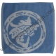 Dragon Logo Face Cloth - White on Blue